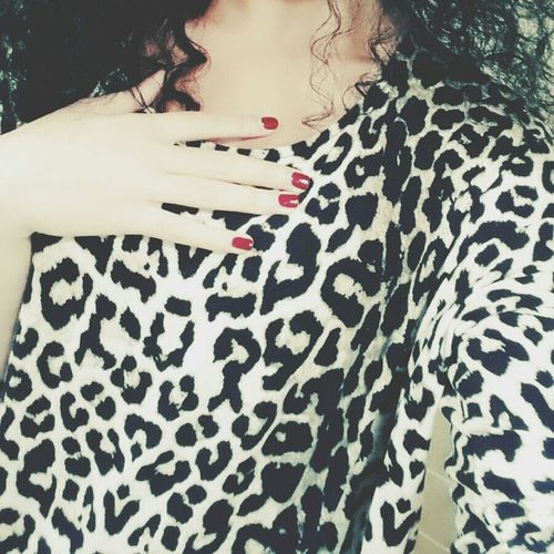 Spotted? Spotted Shirt Zara Lovethis Cool Fashion Style Animalier Nails Beautiful