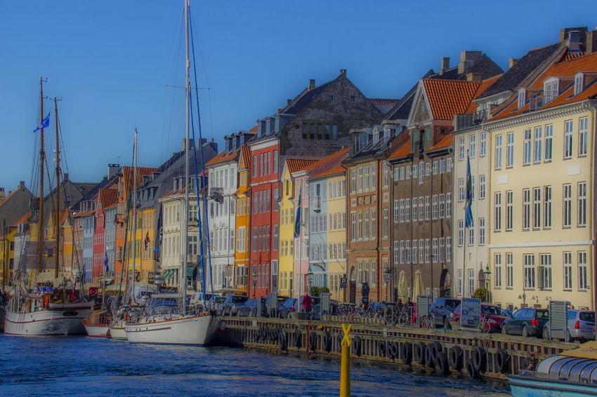 Copenhagen Denmark Danish Design Colorful Scandinavia Cityscapes City View  Cityscape Precision Precise