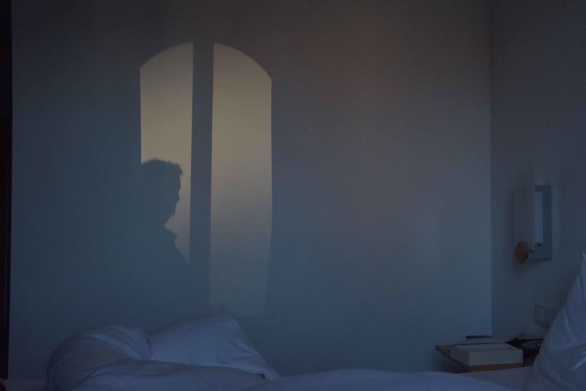 Shadows & Lights Walking Around Hotel Room Me Myself And I Selfie Selfportrait Selfshot Shadow Shadow Of Me Wind