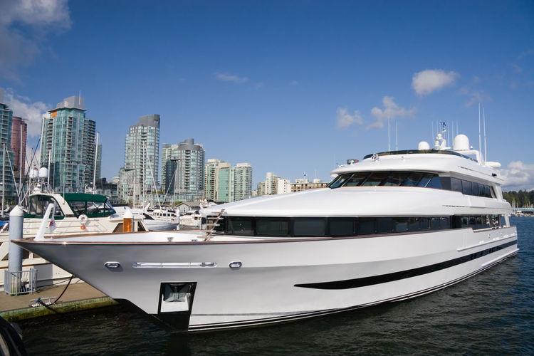 yacht closup