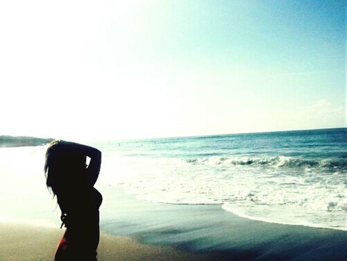 Asturias Paraiso Natural🌿🌼🌊🌞 Playa #beach Frexulfe∆ Beautiful Girl Mar Love♥ Olas Arena Relax Increible ! First Eyeem Photo