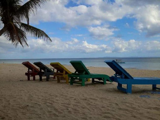 Beach Sea Sand Horizon Over Water Chair Sky Tranquility Relaxation Cloud - Sky Day Water Nature Seat Outdoors