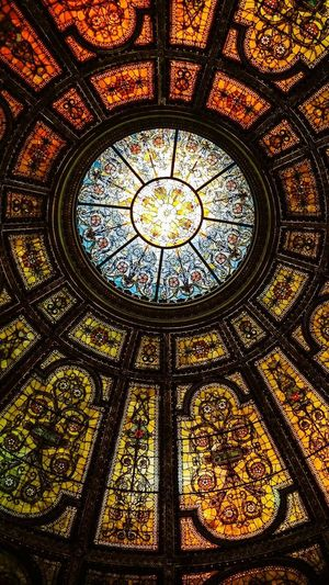 Architecture Window Pattern Design Built Structure Low Angle View History Religion