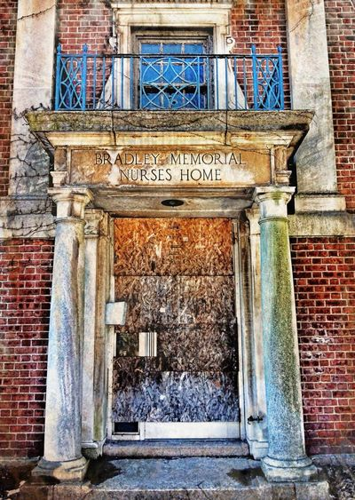 The Maximals (more Edit Juxt MAX It) Abandoned Hospital Notable Entryways Grime Door