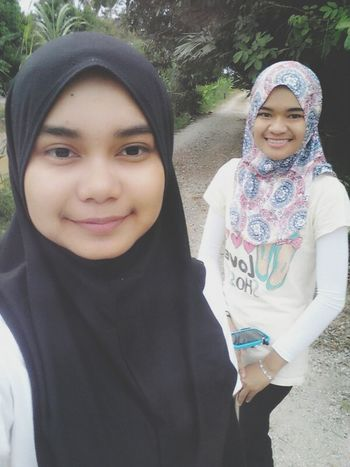 Steph ♥ Monopod With Sister .. Countryside ~