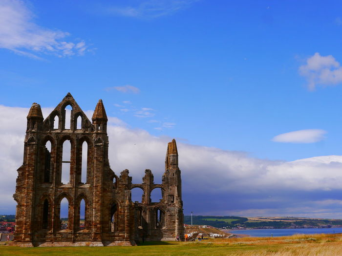 Whitby Abbey Ancient Ancient Civilization Architecture Building Building Exterior Built Structure Day History Nature No People Old Old Ruin Outdoors Place Of Worship Religion Ruined Sky Spirituality The Past