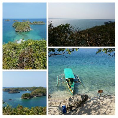 over looking view of the hundred islands Hundred Islands At Alaminos Pangasinan, Philippines