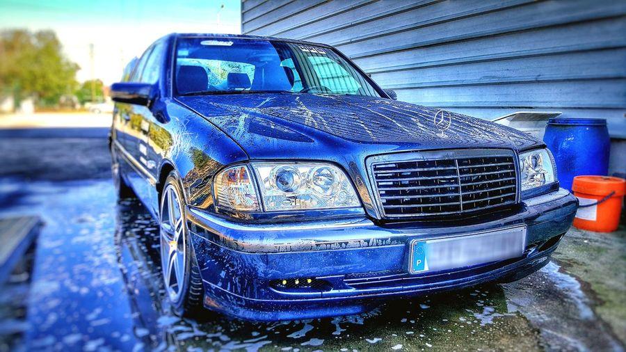Mercedes AMG W202 Clean Water Car