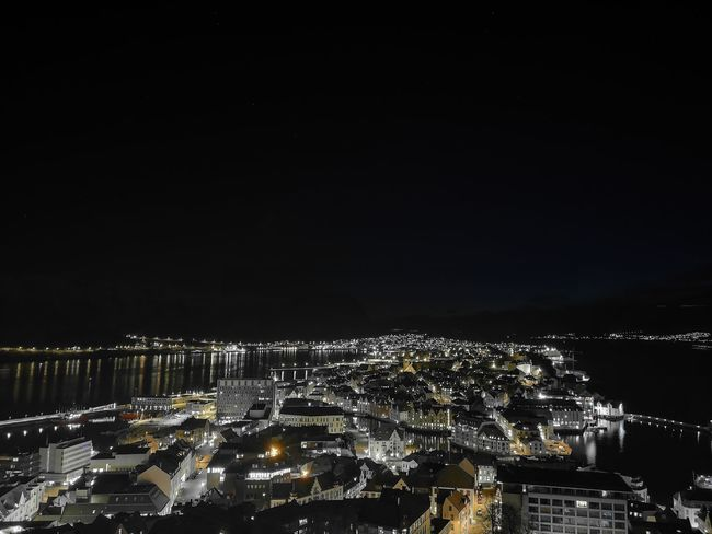 Cityscape Illuminated Urban Skyline Arts Culture And Entertainment Sky