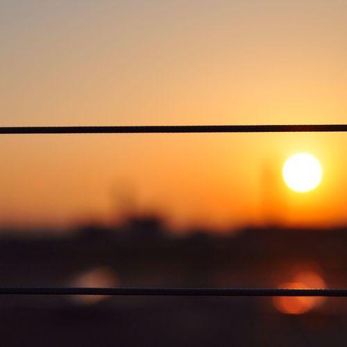sunrise 〜haneda airplane 夕焼け