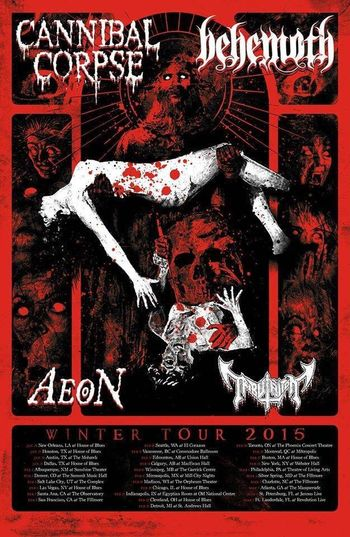 Behemoth CannibalCorpse игареша набережные челны концерт афиша металл сатана православные активисты Show