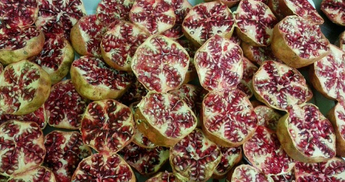 Fruits Pomegranates  The Purist (no Edit, No Filter)