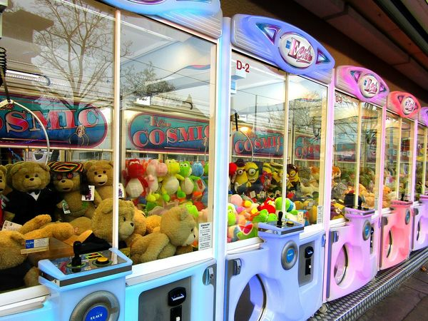 Multi Colored Amusement Park Toys Teddy Bear Themepark Colorful Wantto Game From My Point Of View Eyeemphotography Todayphotography Fine Art Photography Eye4photography  Colour Letsplay Plushtoy