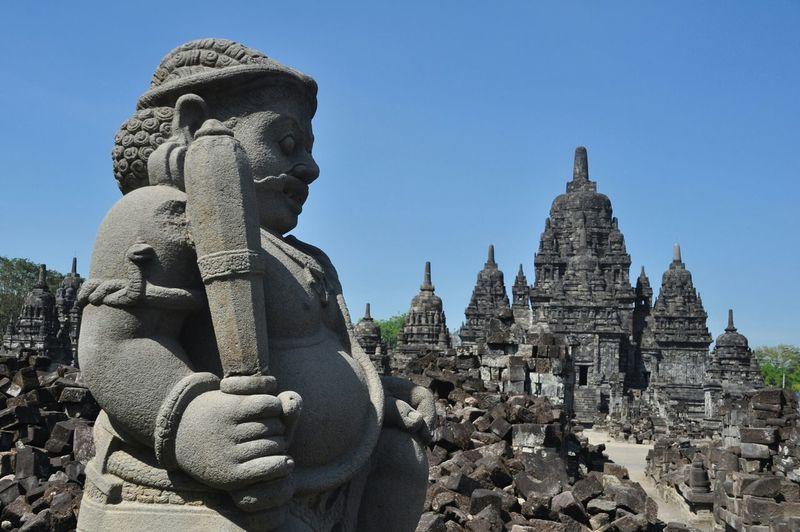 Candi Sewu Temple Yogyakarta Central Java INDONESIA Culture Sculpture Stone Architecture Building Asian Culture