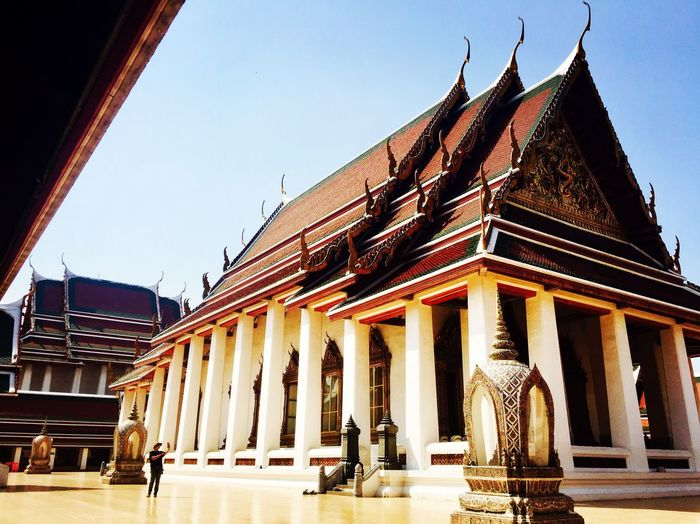 The City Light Bangkok Architecture Temple Place Of Worship Buddhism
