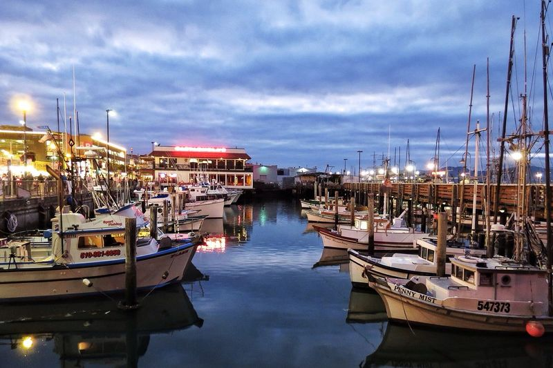 This was my favorite shot from 2012. Fisherman's Wharf San Francisco Love This View Memories Alwaysandforever