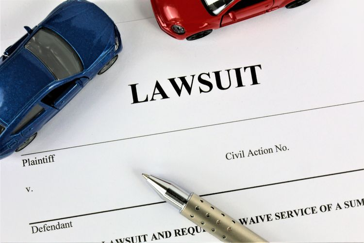 An concept Image of a lawsuit with cars Cars Crash Guilt Guilty Office Accident Car Concept Cord Law Lawsuit Layers No People Paper Pen Pencil Problem