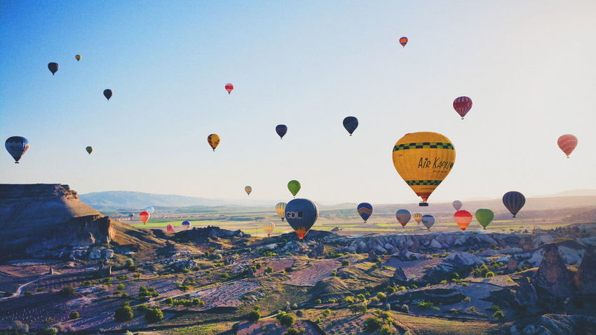 Cappadocia Hotairballoon Magnificent View Scenery Shots Enjoying Life Travel Photography Turkey This View EyeEm Best Shots