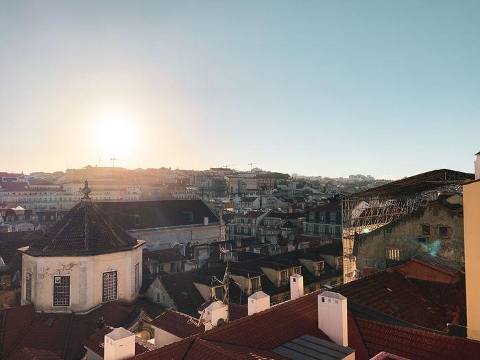 Terrace view from lisbon center