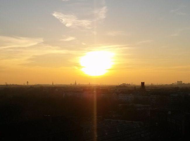 Sun Set Sunporn Sundown At The Office