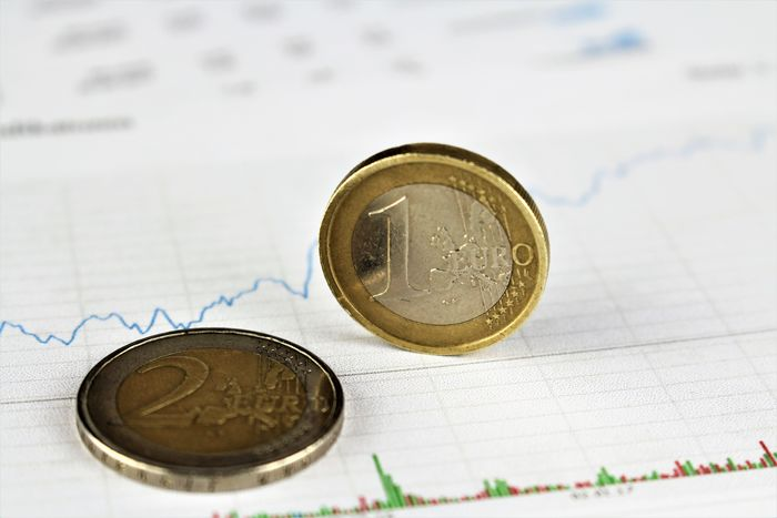 An image of a euro on chart Bank Cash Chart Coin Coins Economy Euro Finance Financial Money Report Taxi