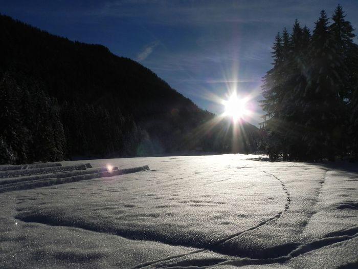 Snow ❄ Mountains Sunrise Winter Italy❤️