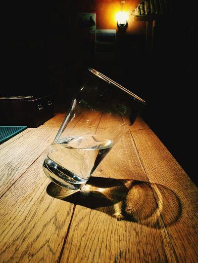 Glass Glassware Water Bar - Drink Establishment Water Pub Not Straight Strange Beauty Rethink Things