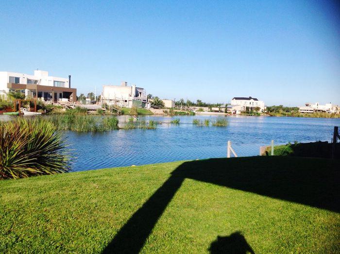 Una hermosa vista al lago en un caluroso dia. First Eyeem Photo