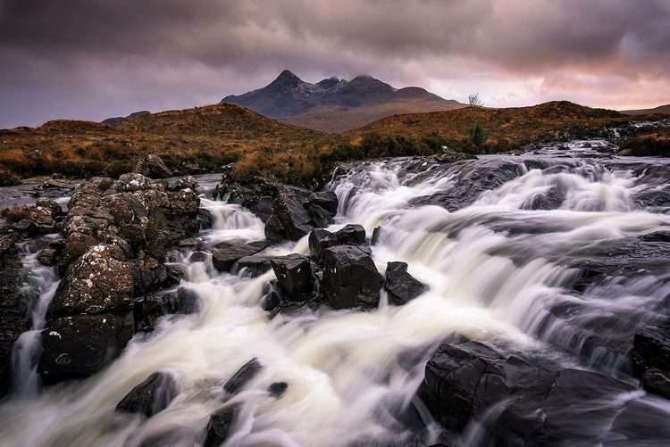 Sligachan, Scotland Waterfall Landscape No People Travel Destinations Nature Scotland Nikonphotography Isle Of Skye