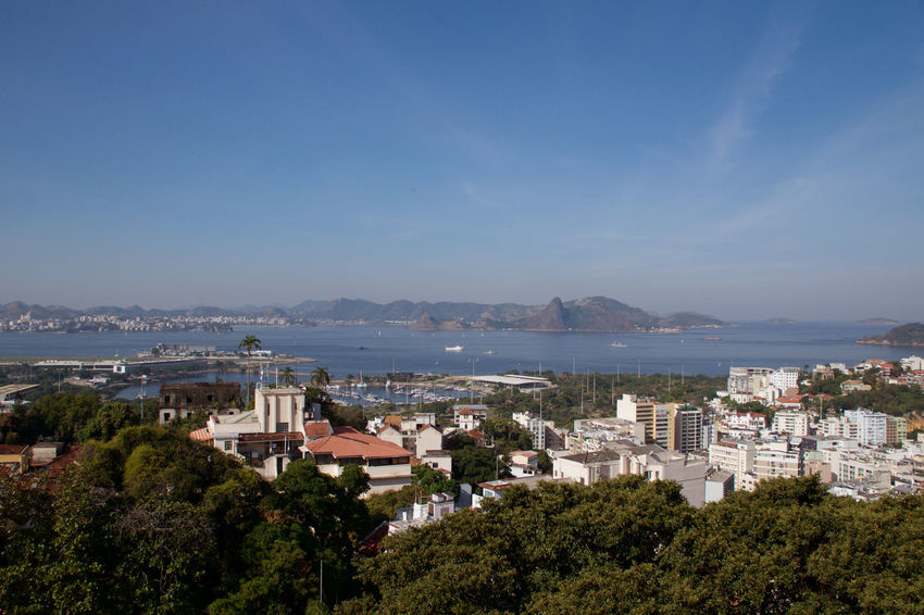 Entrance of the Guanabara Bay seen from Santa Teresa, Rio de Janeiro. 🇧🇷 Architecture Bay Cityscape Mountain Nature Outdoors Sea #urbanana: The Urban Playground Summer In The City