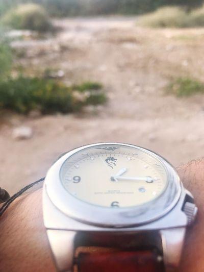 Human Hand Wristwatch Nature Lif
