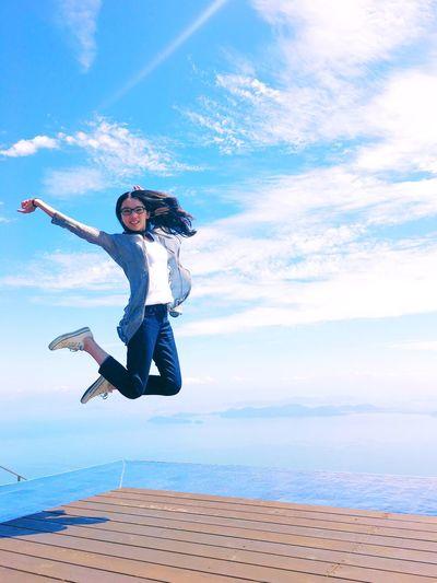Japan Selfportrait Jump