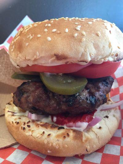 Custom burger Foodspotting