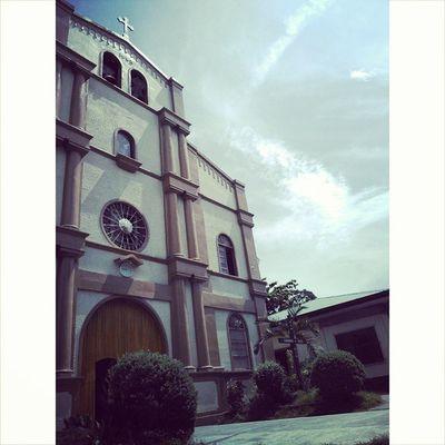 At the Sibulan Catholic Church... ResearchGetaway Sibulan Church Studentnurses PhotoGrid