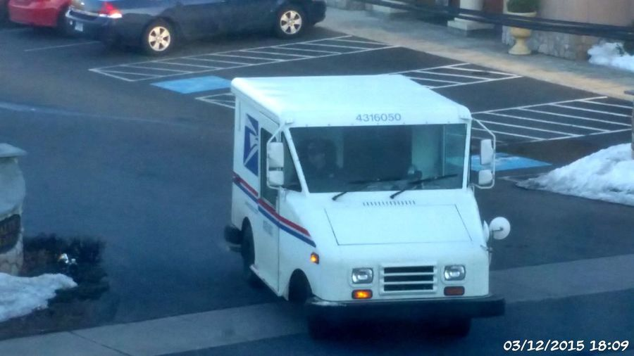 Fine Art Photography Usps Corporation Government Boycott Corporate GREED USGOV Privatization Artistic Expression Motor Vehicle Delivery Truck Delivery Van Delivery Man Delivery Job