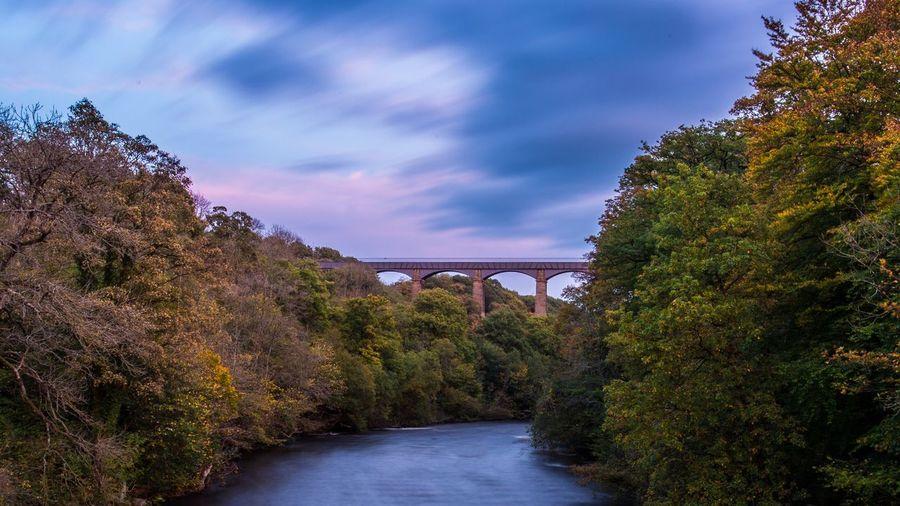 Lost In The Landscape Pontcysyllte Aqueduct Pontcysyllte Riverdee Wales Landscape Long Exposure Sunset