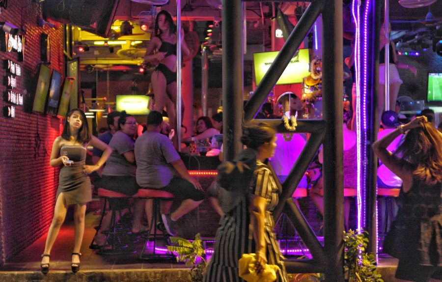 Night Multi Colored Arts Culture And Entertainment Outdoors Neon Nightlife Illuminated Patongphuket Dance Show Club Night Clubbing