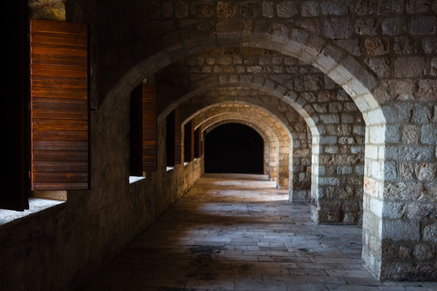 #croatia #dubrovnik Arch Architecture Built Structure History Indoors  No People