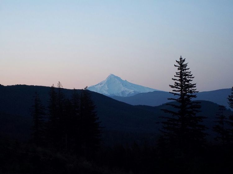 Mt. Hood early sunrise