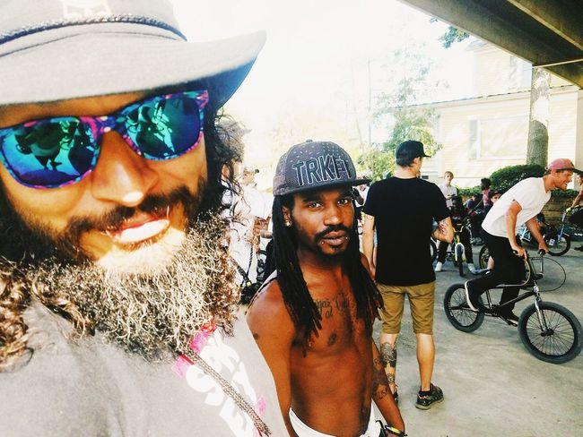 Togetherness Sunglasses Day Bmxlife BMX Contest EyeEm Diversity