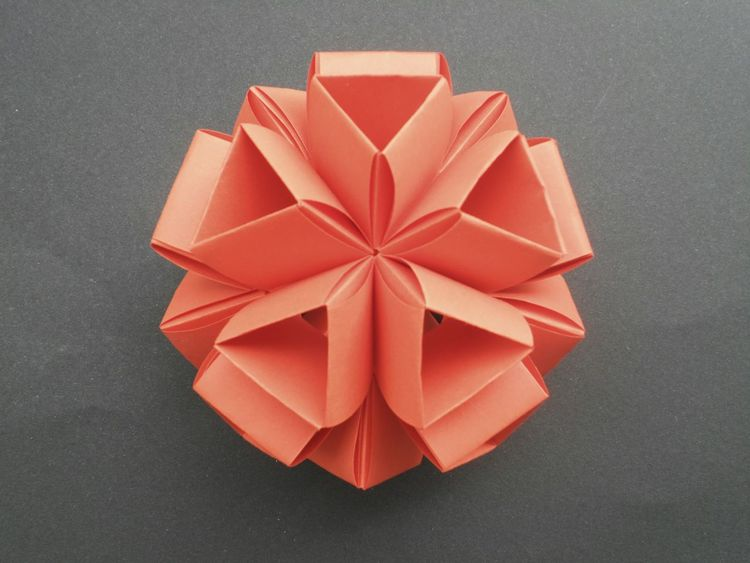 Origami Time Origami Art Origamicolors Paper Red Geometry Geometric Art Inspire Paperart