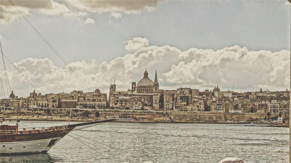 Malta Skyline Valetta Valetta   Malta Cityscapes