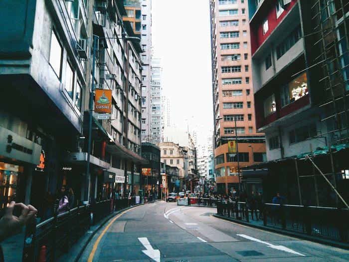 Building Exterior City City Street Architecture Street Incidental People City Life