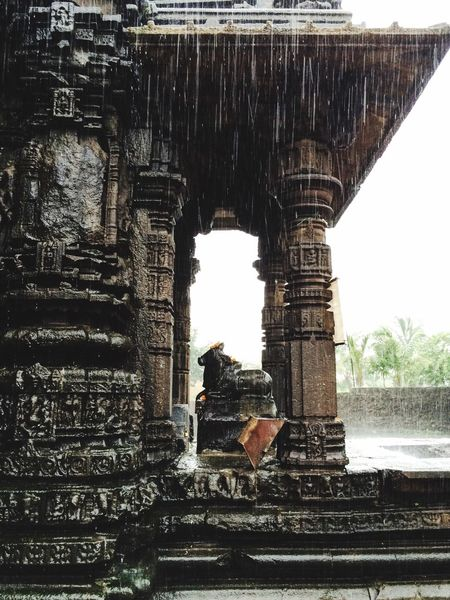 Shiva Templa Architecture Old Architecture Temple Architecture Indian Culture  Indian Architecture Nandi The Bull Hindu Temple Temple of Ambarnath Check This Out Hello World IPhone 5S Through The Rain Temple Of Ambarnath LordShiva Lordshivatemple