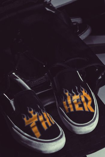 Fire 🔥🔥 Product Photography EyeEm Selects Vans Thrasher Sneakers