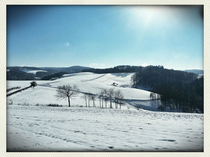 Walking Around Mobile Photography Landscape Winter