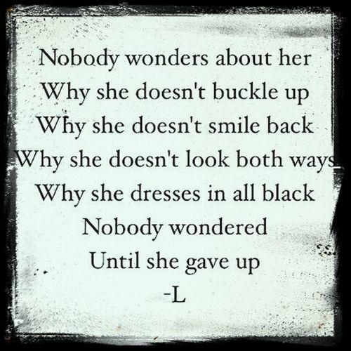 Dont give up. Antibullying Suicidesilence