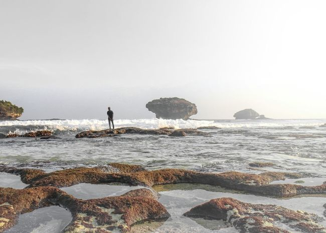 Wind flow 🍃 Beach Beachlife Seascape Alone Bestoftheday