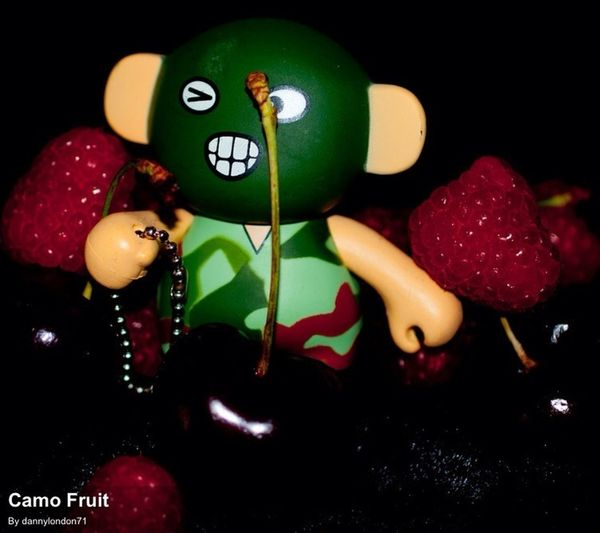 Narco fun with fruit & toy.