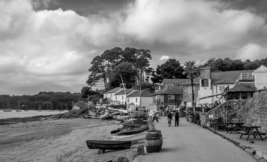 Helford Passage, Cornwall Helfordriver Fujfilmxt10 Helford River Cornwall Monochrome Black And White Ferry Crossing